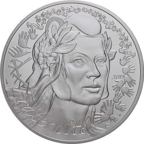 Vorderseite:Frankreich : 100 Euro Marianne  2019 bfr