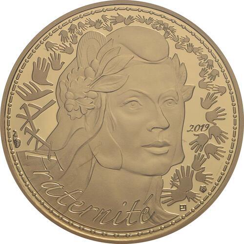 Vorderseite:Frankreich : 250 Euro Marianne  2019 bfr