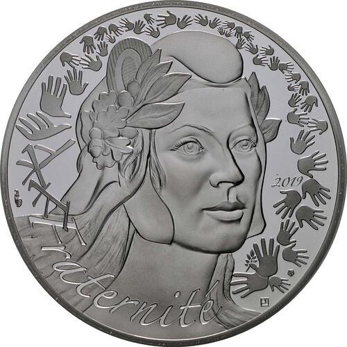 Vorderseite:Frankreich : 20 Euro Marianne  2019 PP