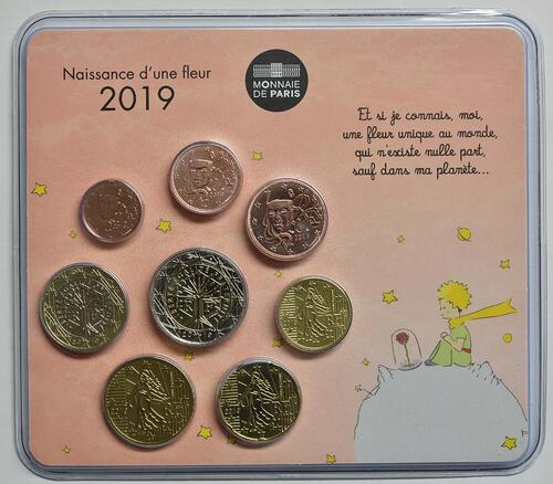 Lieferumfang:Frankreich : 3,88 Euro Mini KMS Mädchen  2019 bfr