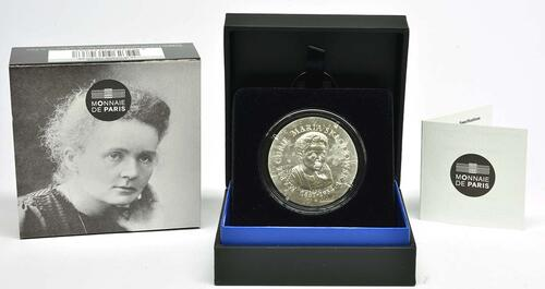 Lieferumfang:Frankreich : 10 Euro Marie Curie  2019 PP