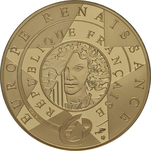 Rückseite:Frankreich : 50 Euro Renaissance - Da Vinci  2019 PP
