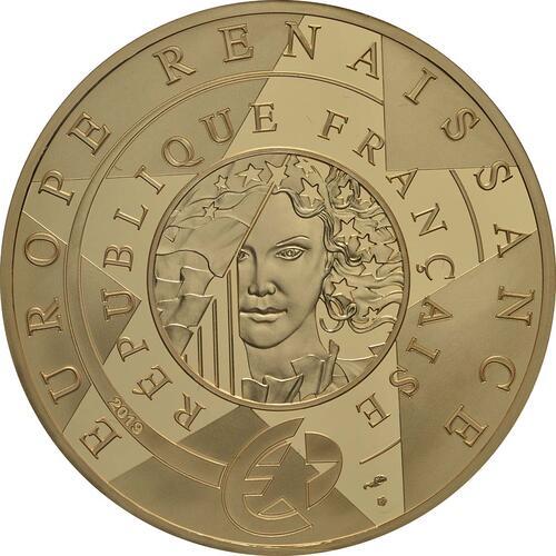 Rückseite:Frankreich : 200 Euro Renaissance - Da Vinci  2019 PP
