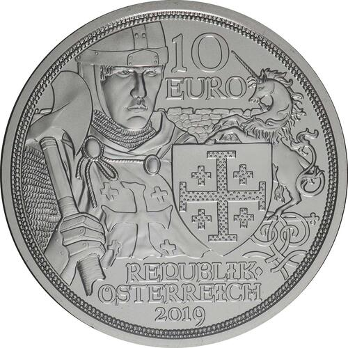 Rückseite:Österreich : 10 Euro Abenteuer  2019 Stgl.