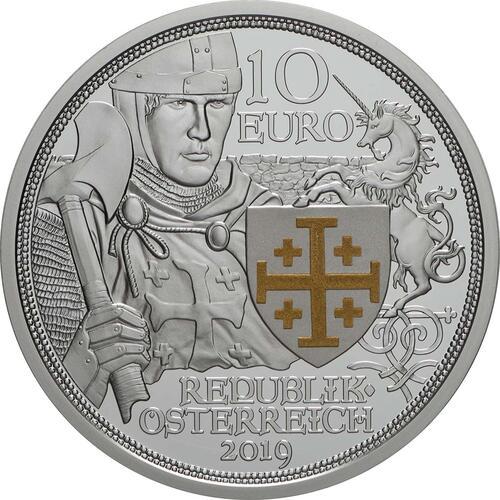 Rückseite:Österreich : 10 Euro Abenteuer  2019 PP