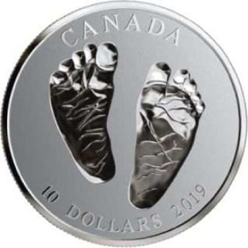Lieferumfang:Kanada : 10 Dollar Babymünze - Willkommen auf der Welt  2019 PP