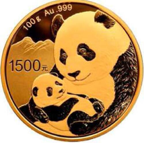 Lieferumfang:China : 1500 Yuan Goldpanda  2019 PP