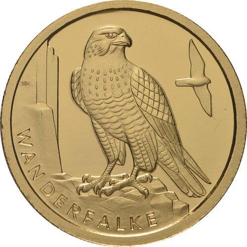 Vorderseite:Deutschland : 20 Euro Wanderfalke - Buchstabe unserer Wahl  2019 Stgl.