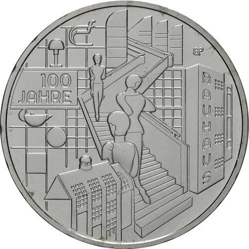 Vorderseite:Deutschland : 20 Euro 100 Jahre Bauhaus  2019 bfr