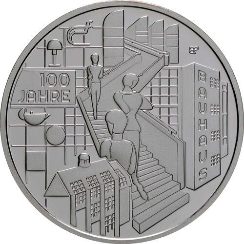 Vorderseite:Deutschland : 20 Euro 100 Jahre Bauhaus  2019 PP
