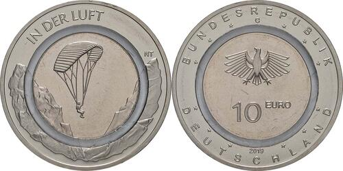 Lieferumfang:Deutschland : 10 Euro In der Luft  2019 bfr