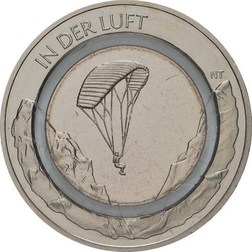 Vorderseite:Deutschland : 10 Euro In der Luft  2019 bfr