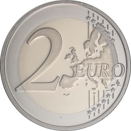 Vorderseite:Portugal : 2 Euro 500. Jahrestag der Weltumseglung durch Magellan  2019 PP