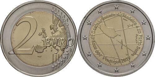 Lieferumfang:Portugal : 2 Euro 600. Jahrestag der Entdeckung der Insel Madeira  2019 bfr
