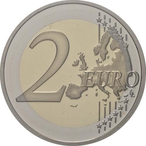 Vorderseite:Portugal : 2 Euro 600. Jahrestag der Entdeckung der Insel Madeira  2019 PP