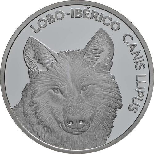 Vorderseite:Portugal : 5 Euro Iberischer Wolf  2019 PP