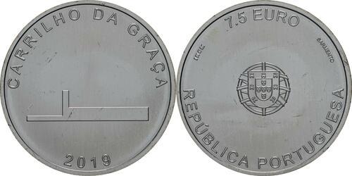 Lieferumfang:Portugal : 7,5 Euro Carrilho Da Graca  2019 bfr