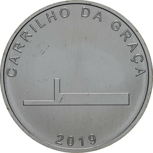 Vorderseite:Portugal : 7,5 Euro Carrilho Da Graca  2019 bfr