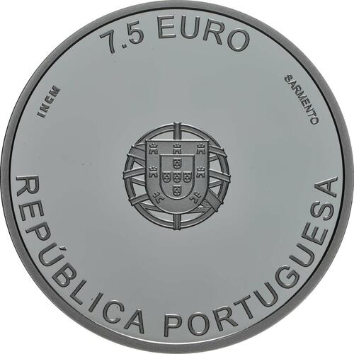 Rückseite:Portugal : 7,5 Euro Carrilho Da Graca  2019 PP