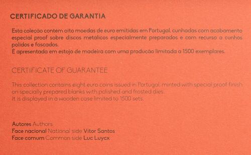 Zertifikat:Portugal : 3,88 Euro KMS Portugal  2019 PP