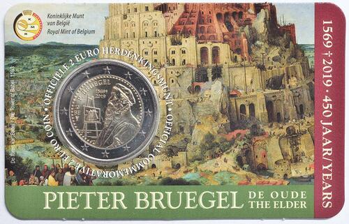Lieferumfang:Belgien : 2 Euro 450 Jahre Pieter Bruegel der Ältere  2019 Stgl.