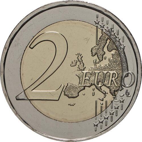 Vorderseite:Griechenland : 2 Euro 150. Todestag von Andreas Kalvos  2019 bfr