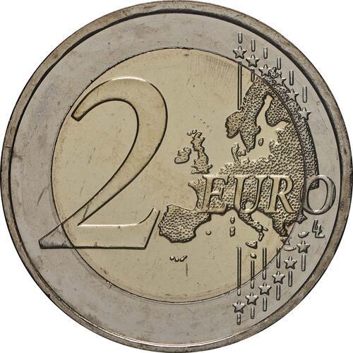 Vorderseite:Griechenland : 2 Euro 100. Geburtstag von Manolis Andronikos  2019 bfr