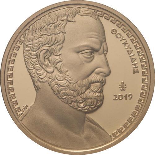 Vorderseite:Griechenland : 200 Euro Thukydides - Historiker  2019 PP