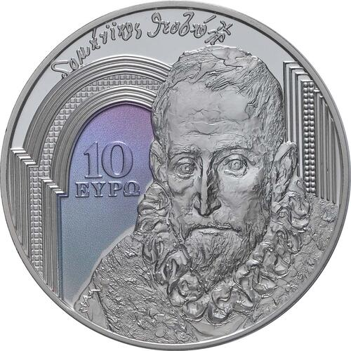 Vorderseite:Griechenland : 10 Euro Renaissance  2019 PP