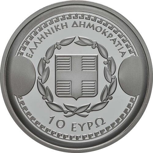 Rückseite:Griechenland : 10 Euro Thukydides - Historiker  2019 PP