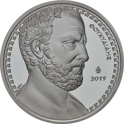 Vorderseite:Griechenland : 10 Euro Thukydides - Historiker  2019 PP
