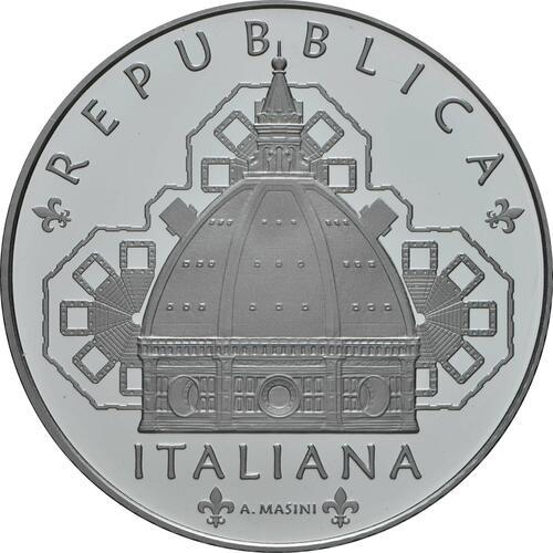 Vorderseite:Italien : 5 Euro Toskana - Santa Maria del Fiore - Florenz  2019 PP