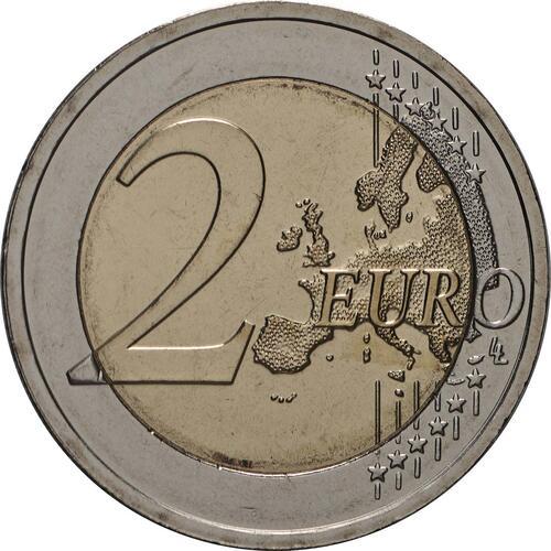 Vorderseite:Litauen : 2 Euro Zemaitija (Samogitien)  2019 bfr