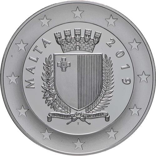 Rückseite:Malta : 10 Euro 7. Juni - Aufstand gegen die britische Militärverwaltung 1919  2019 PP