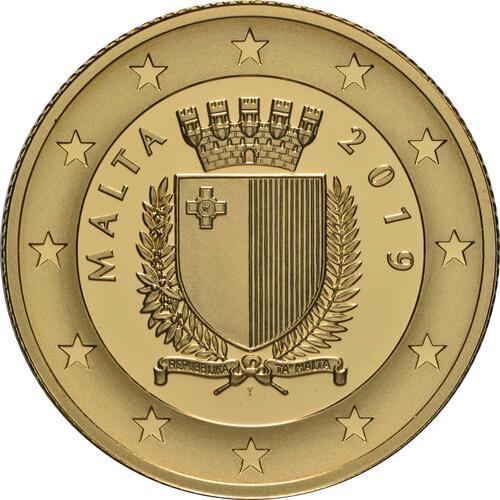 Rückseite:Malta : 100 Euro Sette Giugno - Aufstand gegen die britische Militärverwaltung 1919  2019 PP