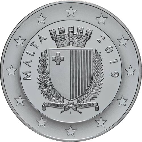 Rückseite:Malta : 10 Euro 150 Jahre Suezkanal  2019 PP