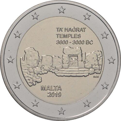 Rückseite:Malta : 5,88 Euro KMS Malta  2019 Stgl.