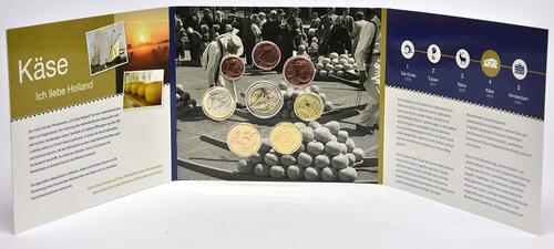 Lieferumfang:Niederlande : 3,88 Euro KMS Niederlande Käse - World Money Fair 2019 Berlin   2019 Stgl.