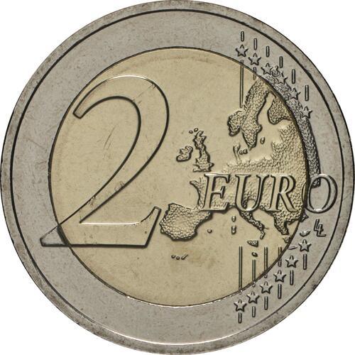 Vorderseite:Luxemburg : 2 Euro 100 Jahre allgemeines Wahlrecht in Luxemburg  2019 bfr
