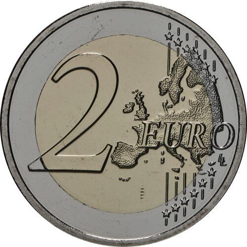Vorderseite:Luxemburg : 2 Euro 100 Jahre allgemeines Wahlrecht in Luxemburg  2019 Stgl.