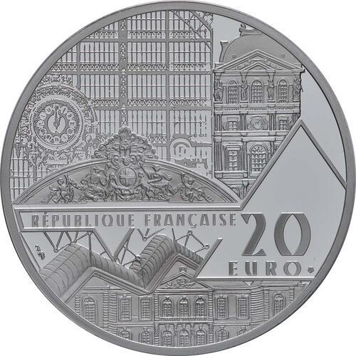 Rückseite:Frankreich : 20 Euro Mona Lisa  2019 PP