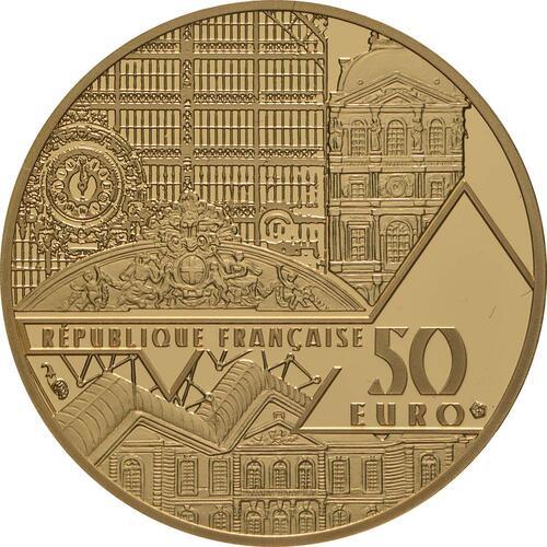 Rückseite:Frankreich : 50 Euro Mona Lisa  2019 PP