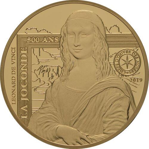 Vorderseite:Frankreich : 50 Euro Mona Lisa  2019 PP