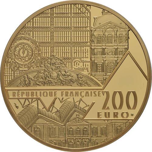 Rückseite:Frankreich : 200 Euro Mona Lisa  2019 PP