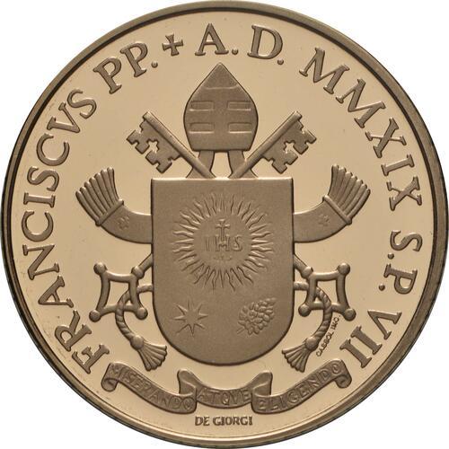 Rückseite:Vatikan : 20 Euro Apostelgeschichte: die ersten Missionen  2019 PP