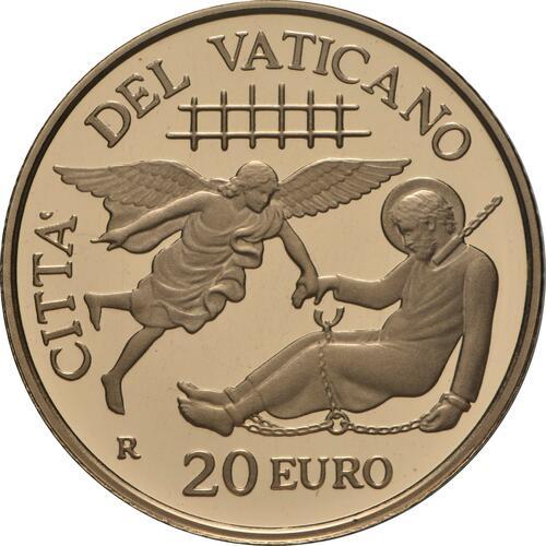 Vorderseite:Vatikan : 20 Euro Apostelgeschichte: die ersten Missionen  2019 PP