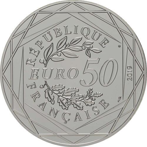 Rückseite:Frankreich : 50 Euro 17. Juli  2019 bfr
