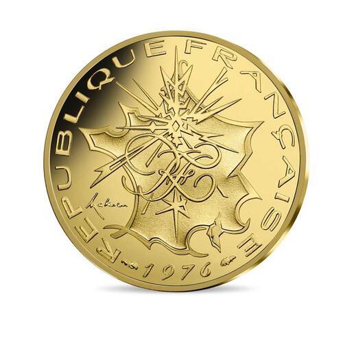 Vorderseite:Frankreich : 200 Euro 10FF Mathieu de 1976  2019 bfr