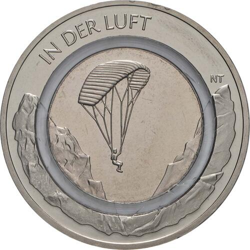 Vorderseite:Deutschland : 10 Euro 25x 10 Euro In der Luft  2019 bfr