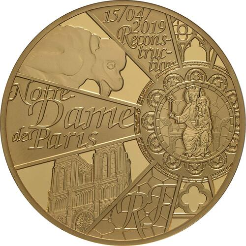 Vorderseite:Frankreich : 200 Euro Notre Dame  2019 PP